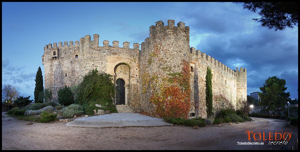 Panorámica del Castillo de San Servando desde el exterior, por David Utrilla