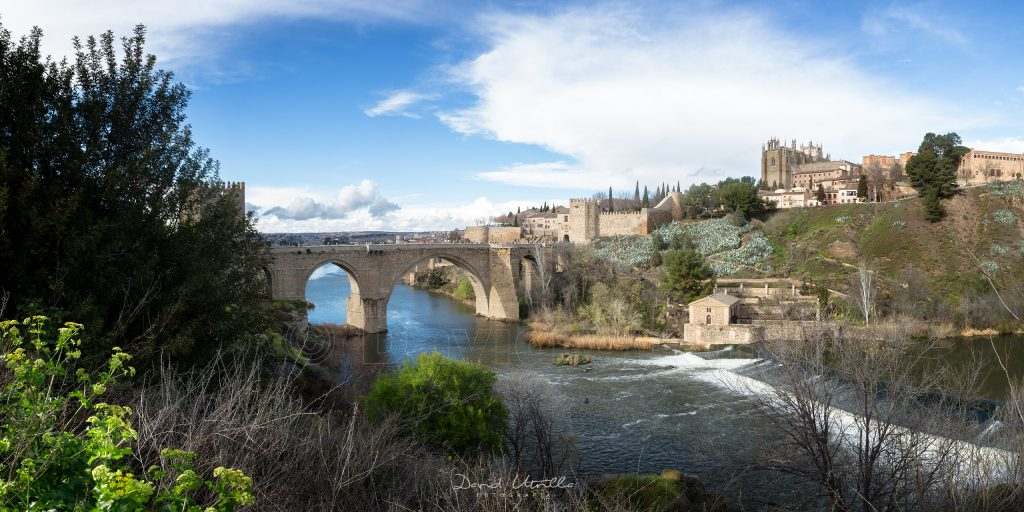 Puente de San Martín de Toledo, por David Utrilla