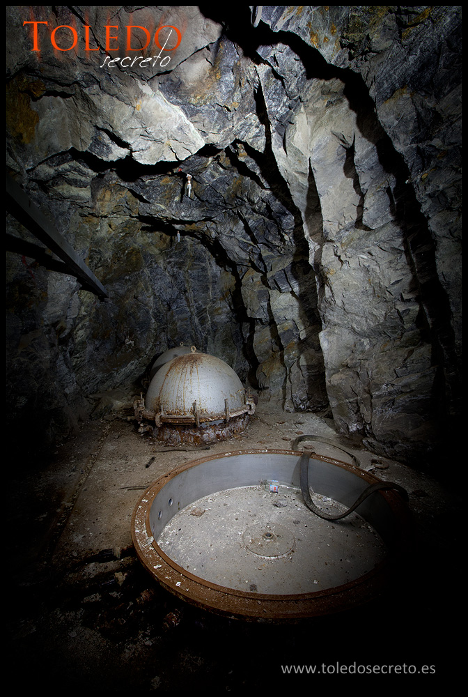 Cúpulas metálicas para la instrumentación del viejo sismógrafo en Toledo. Foto: David Utrilla