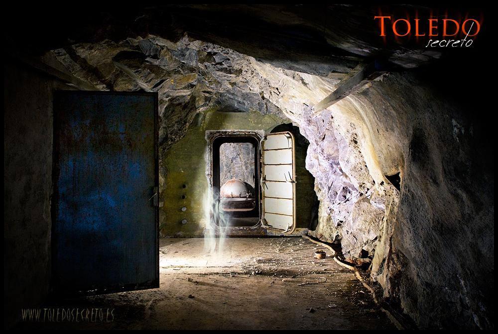 El subterráneo del viejo sismógrafo de Toledo