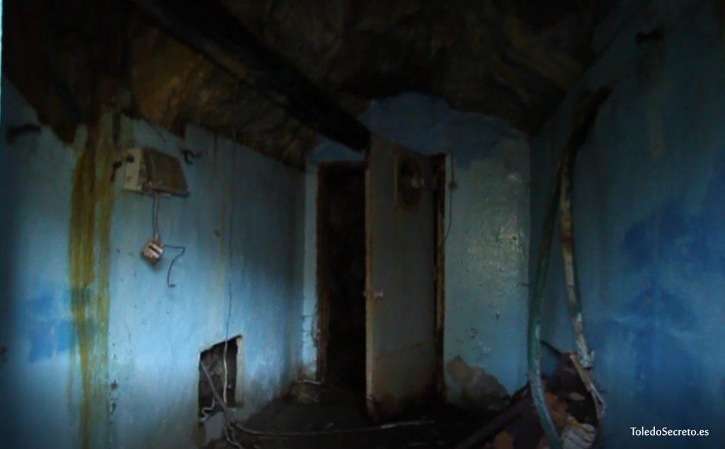 Una de las habitaciones del recinto subterráneo.