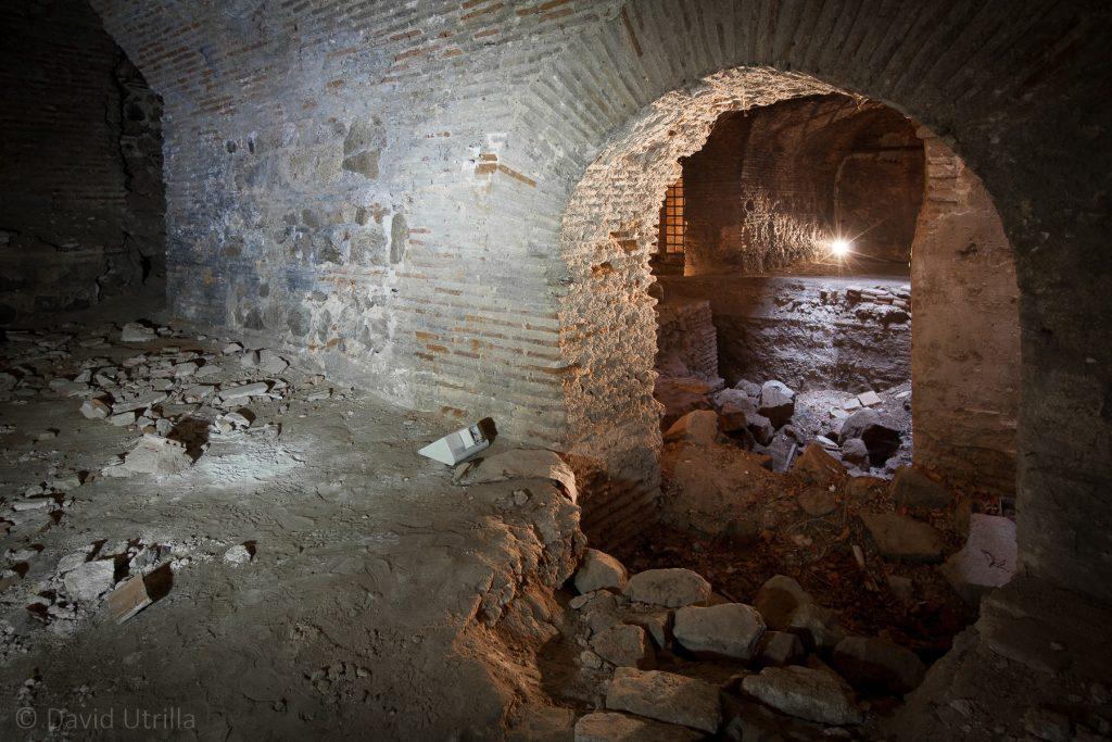 Sótanos bajo el Museo del Greco en Toledo