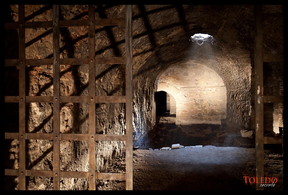 Sótano del Museo del Greco en Toledo