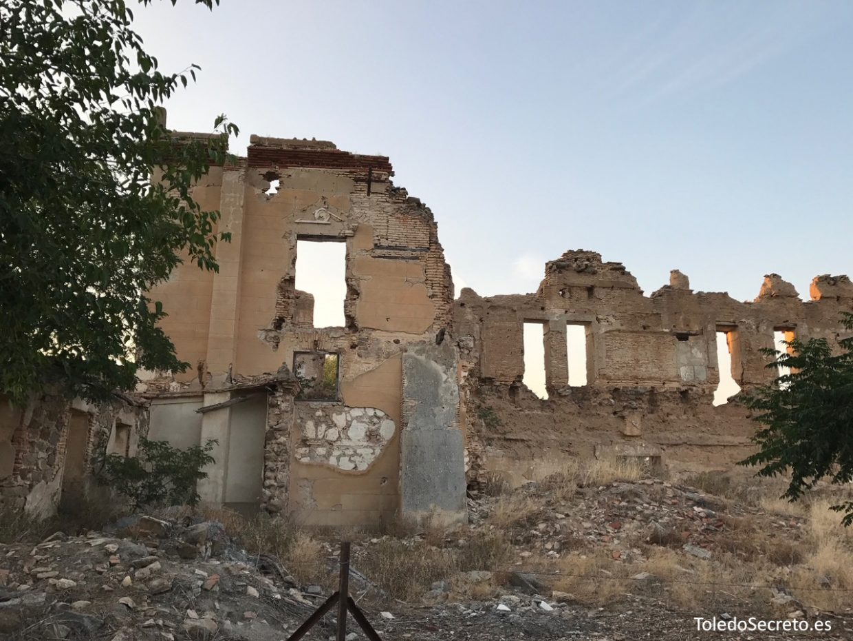 Ruinas del Palacio de la Sisla de Toledo