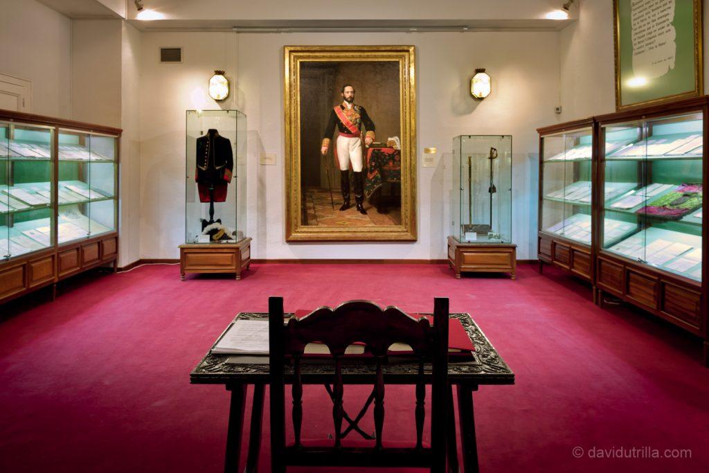 Sala Prim de la Academia de Infantería de Toledo
