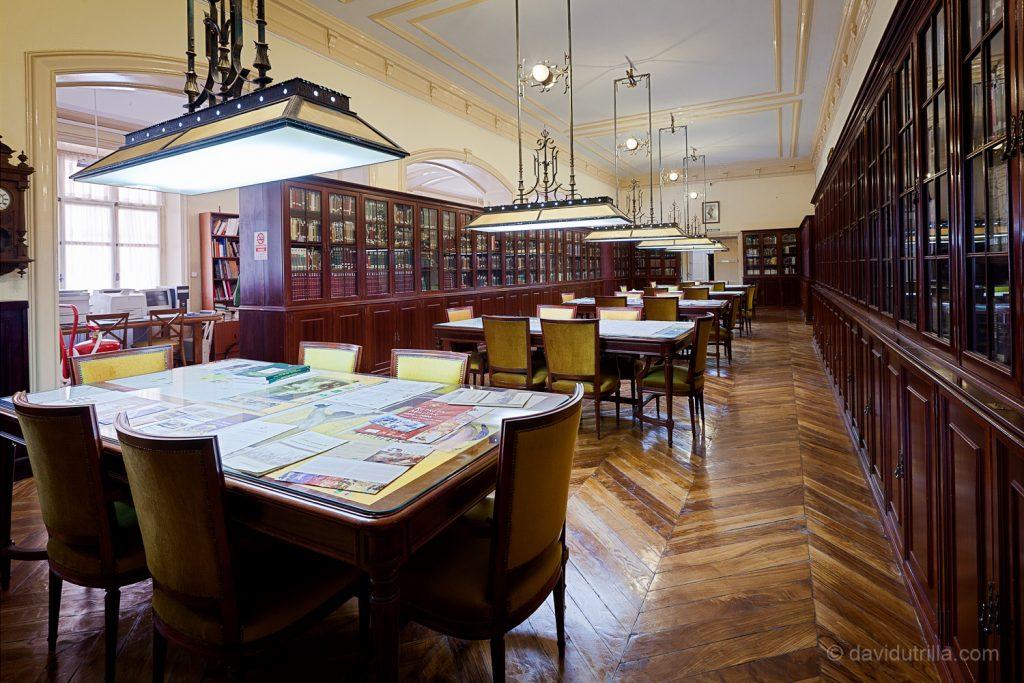 Biblioteca de la Academia de Infantería de Toledo