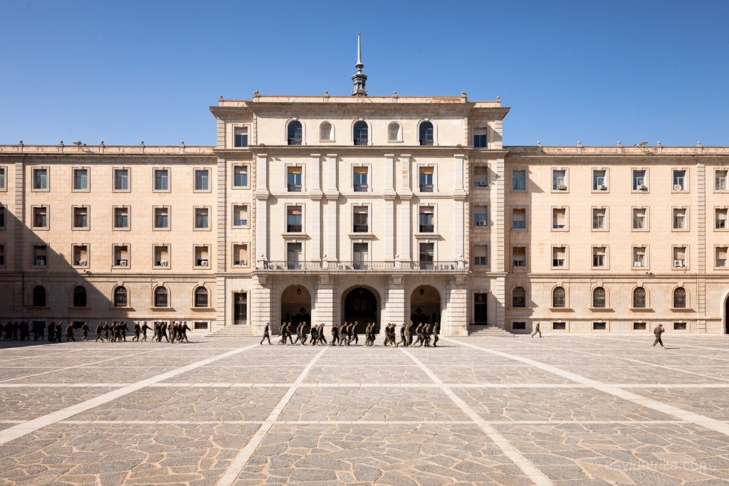 Patio de la Academia de Infantería de Toledo