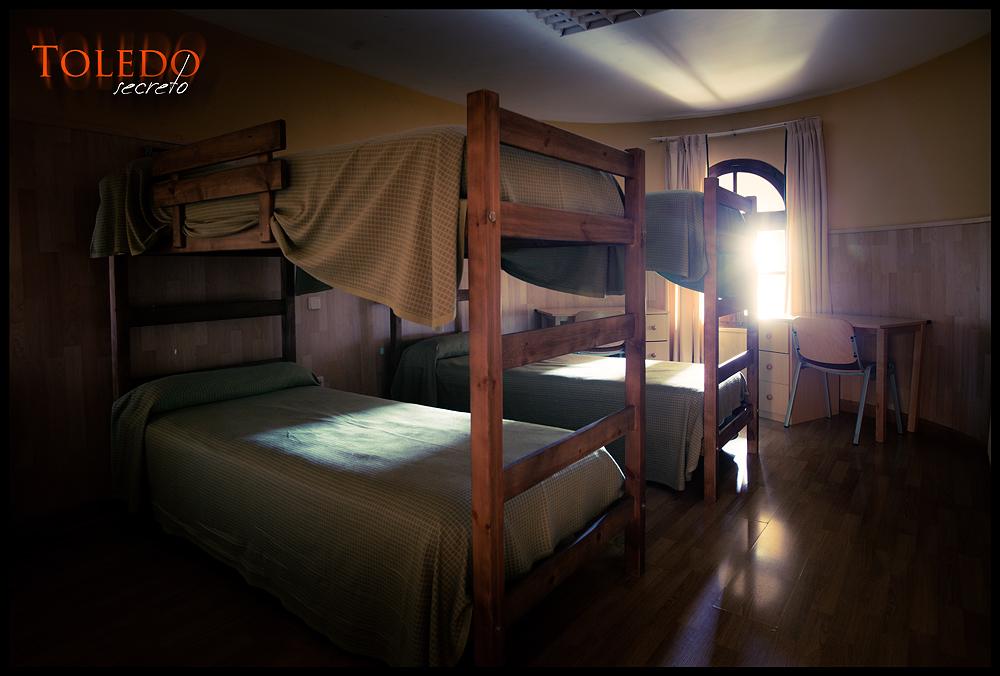 Habitación T4 del Castillo de San Servando