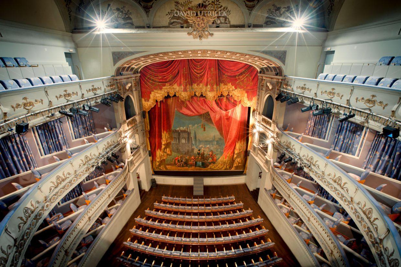Patio de butacas del Teatro de Rojas en Toledo