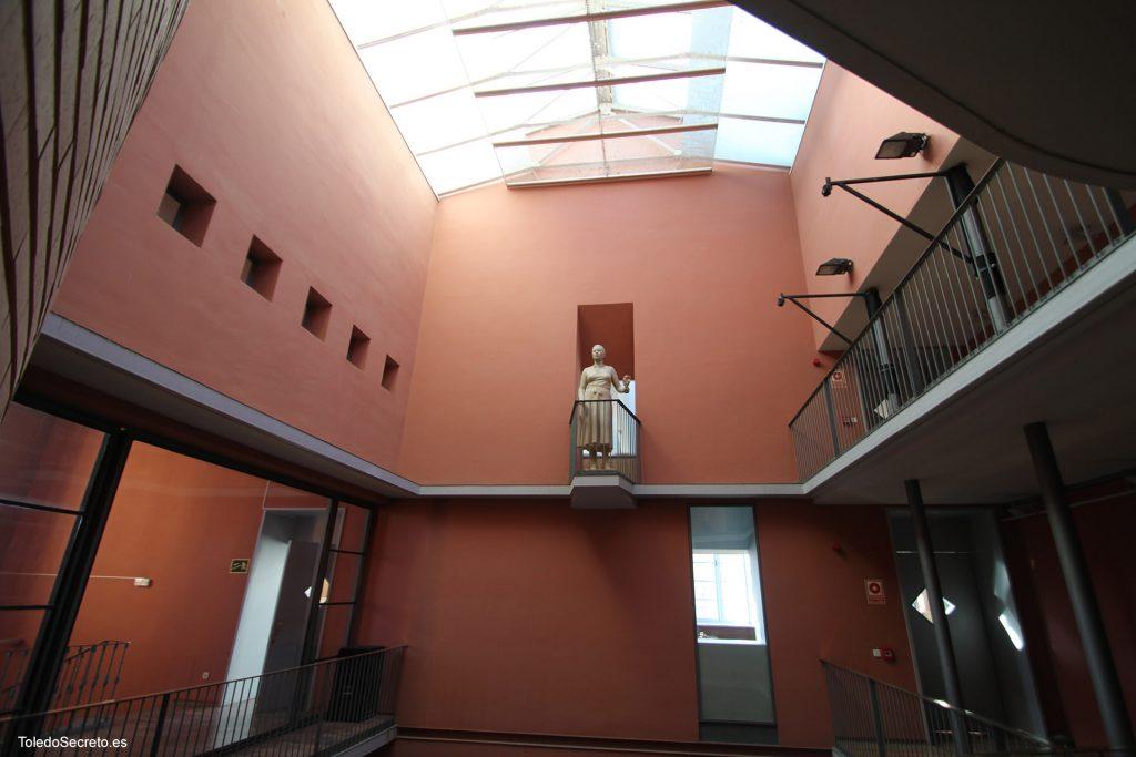 Salas de acceso al Teatro de Rojas de Toledo