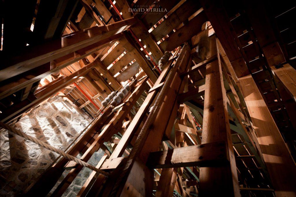 Foso. Interior del Teatro de Rojas en Toledo